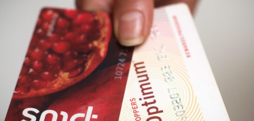 A Loblaws PC Plus and a Shoppers Drug Mart Optimum card are shown together in Toronto on Tuesday. Nov. 7. Loblaw Companies Ltd. (TSX:L) says it will merge Shoppers Optimum points and PC Plus points under the name PC Optimum starting in February. THE CANADIAN PRESS/Graeme Roy