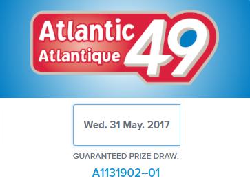 Atlantic 49 Draw Results
